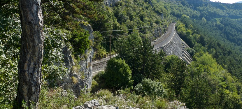 La Strada della Malvasia: Giu' dalciglione