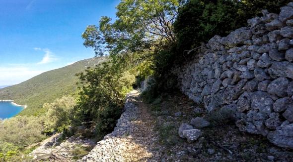 Il sentiero per Sveti Blaz